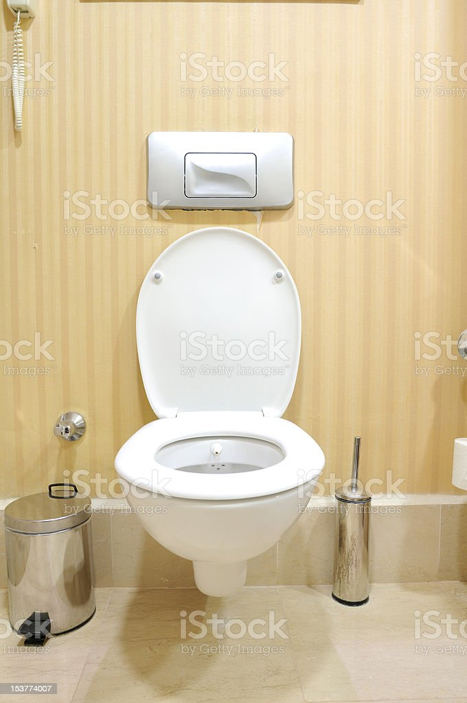 Toilet royalty-free stock photo