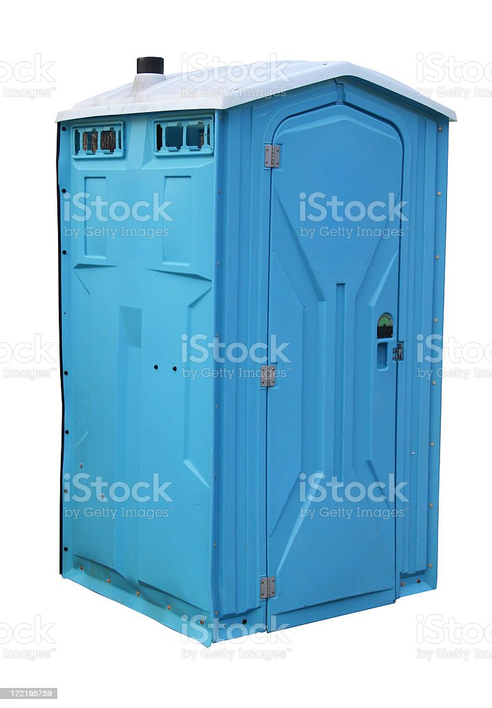 toilet (clipping path) stock photo