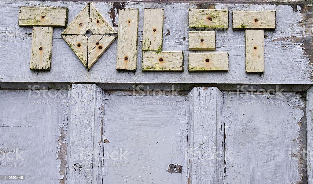 トイレの標示 ロイヤリティフリーストックフォト