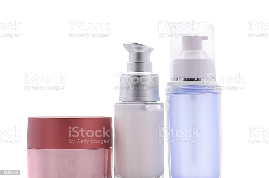 Toiletries and Cosmetics royalty-free stock photo