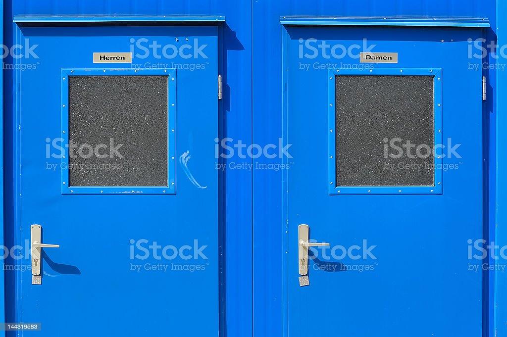 Toilets no.1 royalty-free stock photo