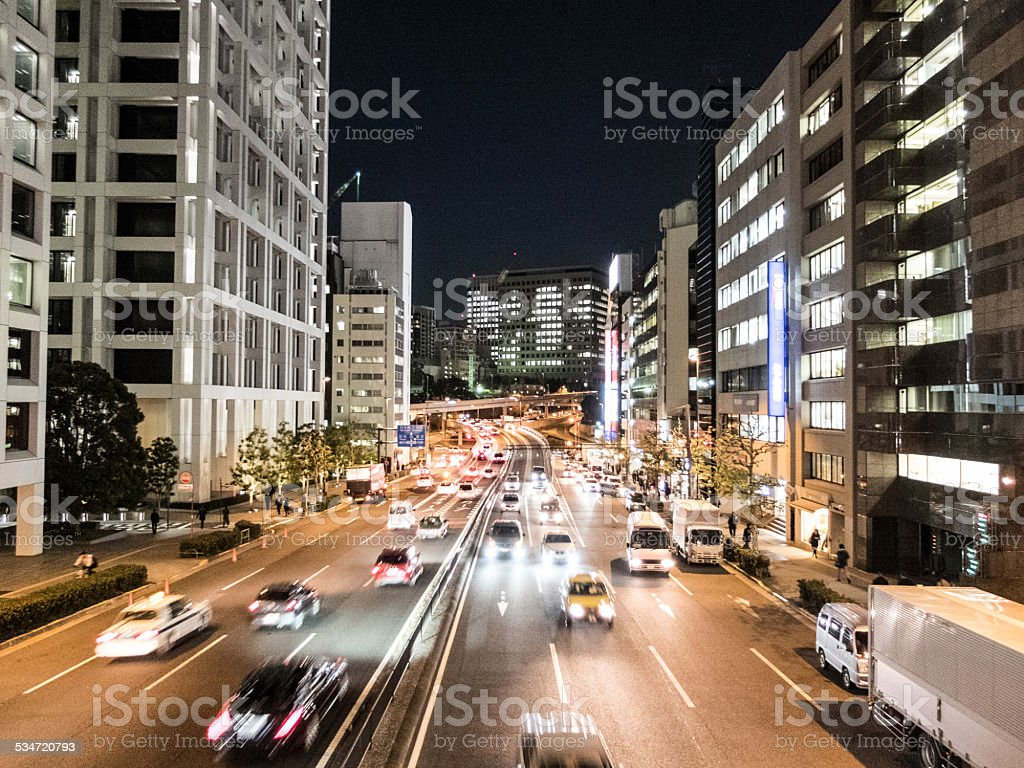 Tokio Street stock photo