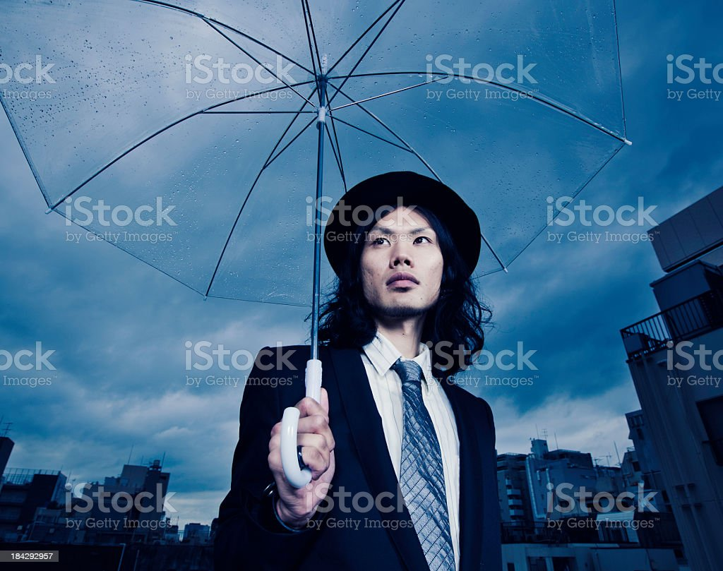 Tokyo Business Man stock photo
