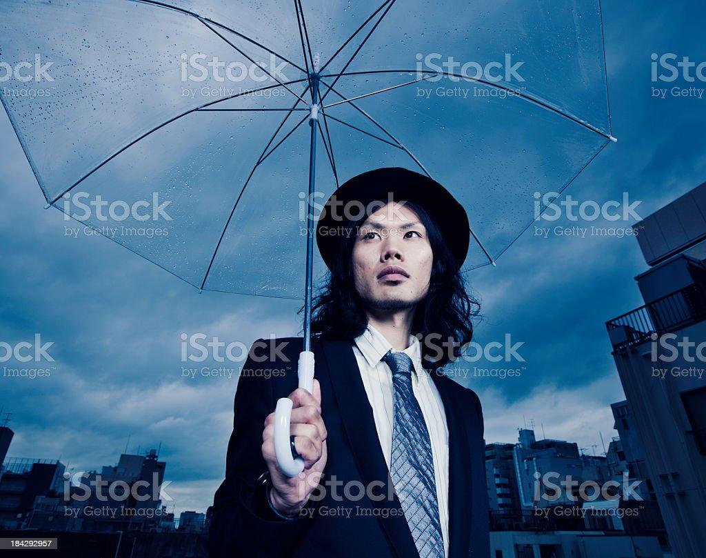 Tokyo Business Man stock photo