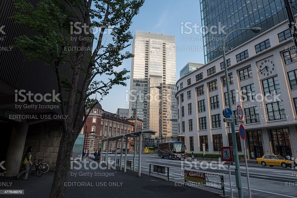 Tokyo Central Post Office royalty-free stock photo