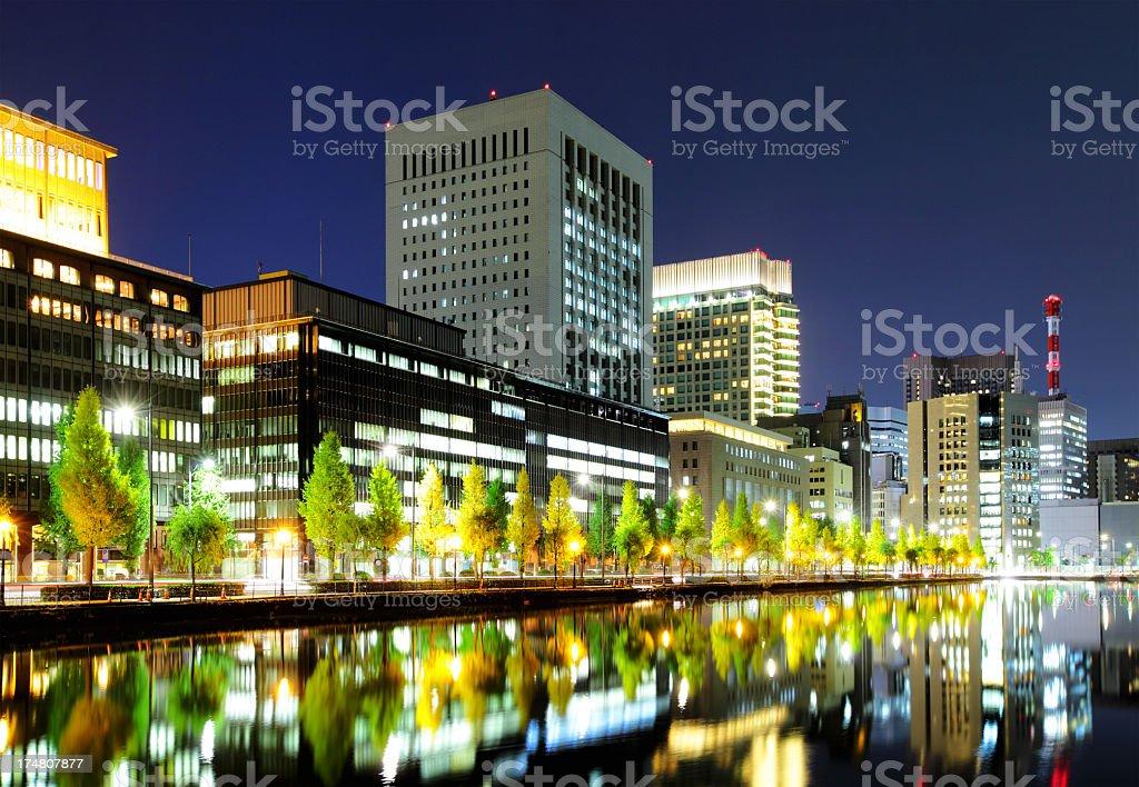 Tokyo city royalty-free stock photo