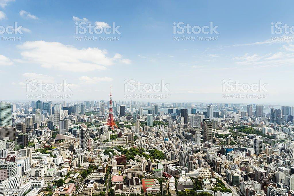 Tokyo Cityscape, Japan stock photo