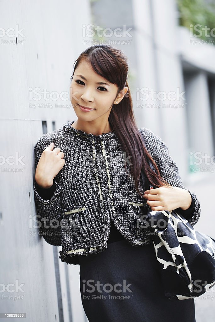 Tokyo girl royalty-free stock photo
