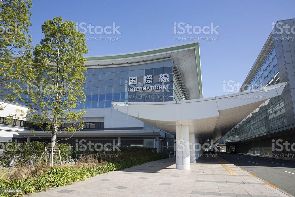 Tokyo International Airport royalty-free stock photo