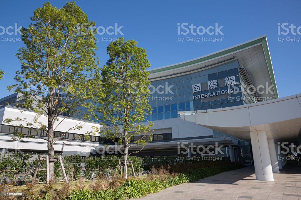 Tokyo International Airport royalty-free stock photo