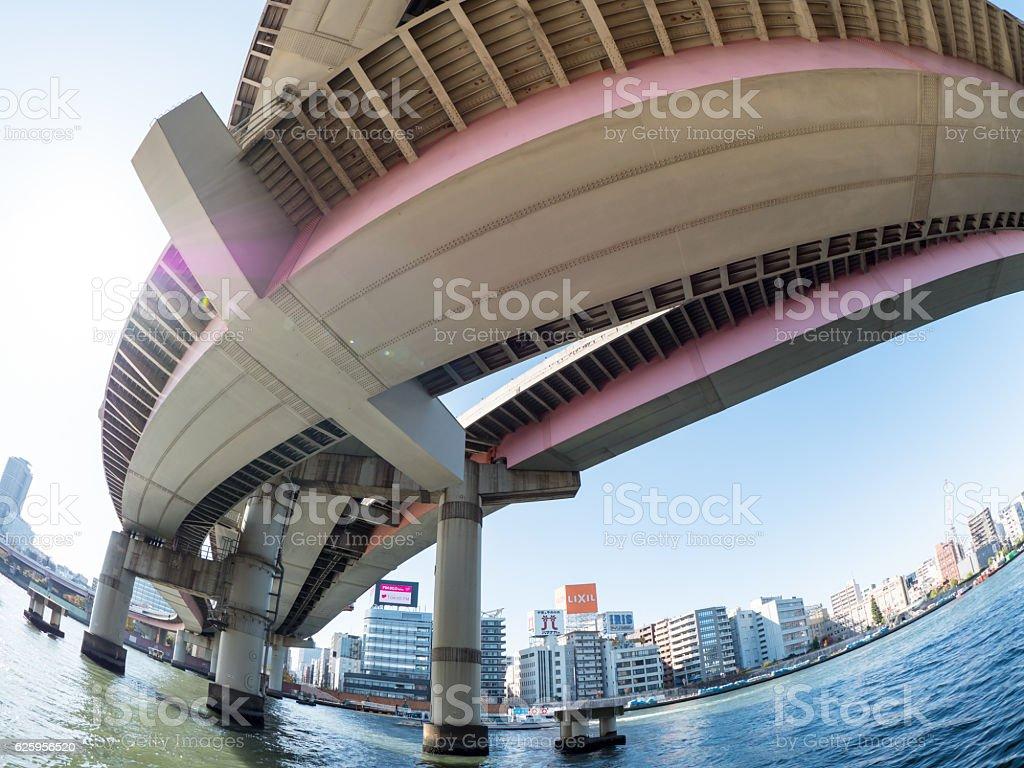 Tokyo, Japan at junction stock photo