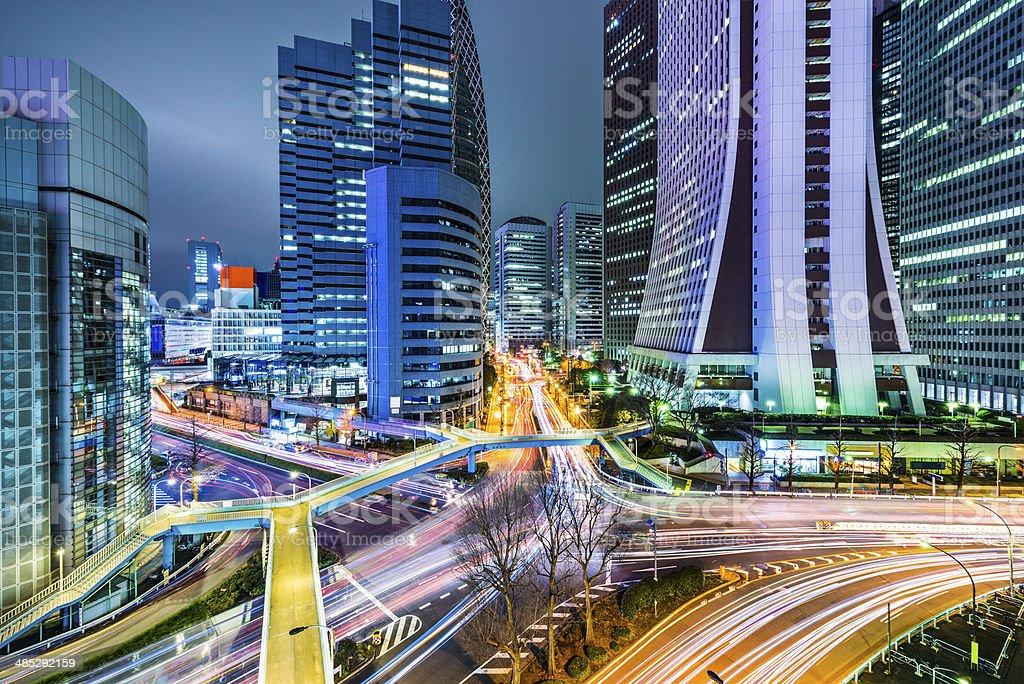 Tokyo Japan at West Shinjuku stock photo