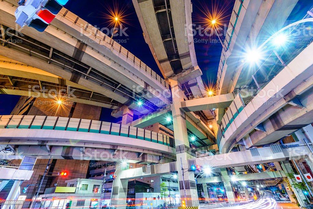 Tokyo Japan Junctions stock photo