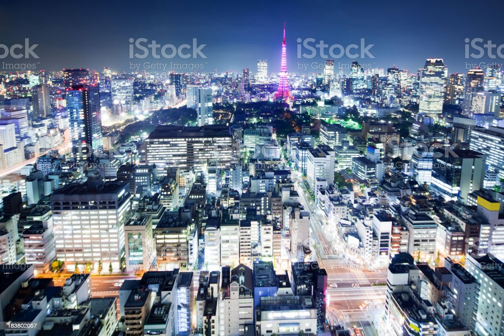 Tokyo, Japan. royalty-free stock photo