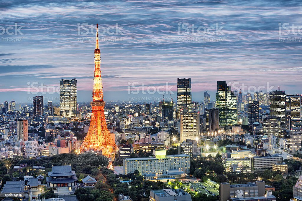 Tokyo, Japan royalty-free stock photo