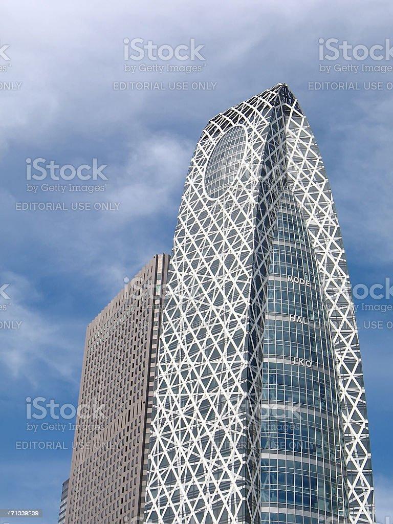 Tokyo - Mode Gakuen Cocoon Tower stock photo