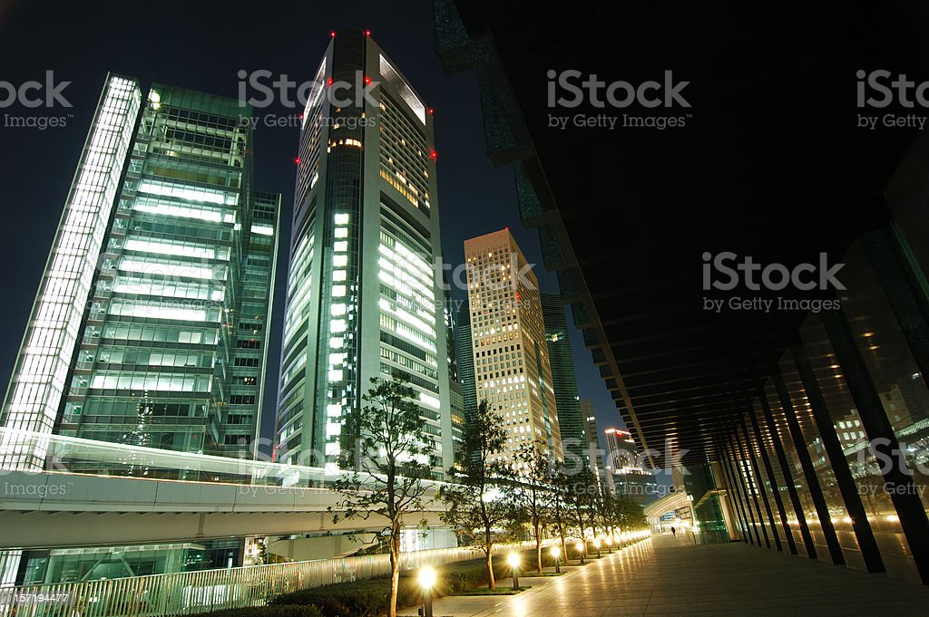 Tokyo Nights royalty-free stock photo