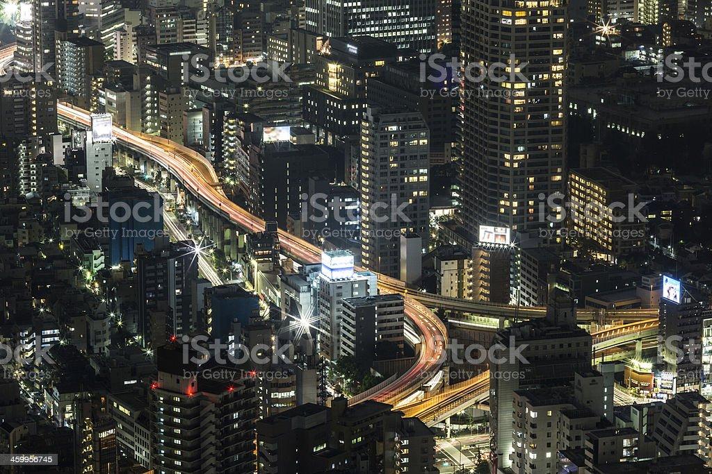 Tokyo nights stock photo