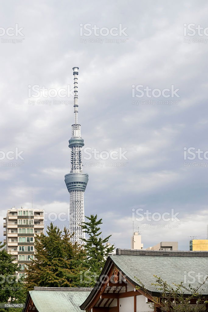 Tokyo: Old and New stock photo