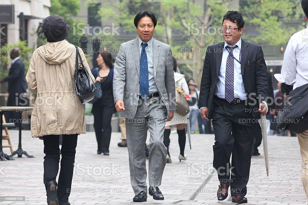 Tokyo people royalty-free stock photo