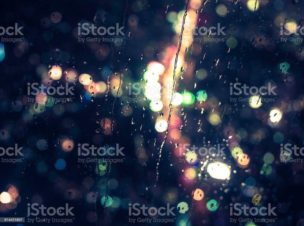 Tokyo Rainning stock photo