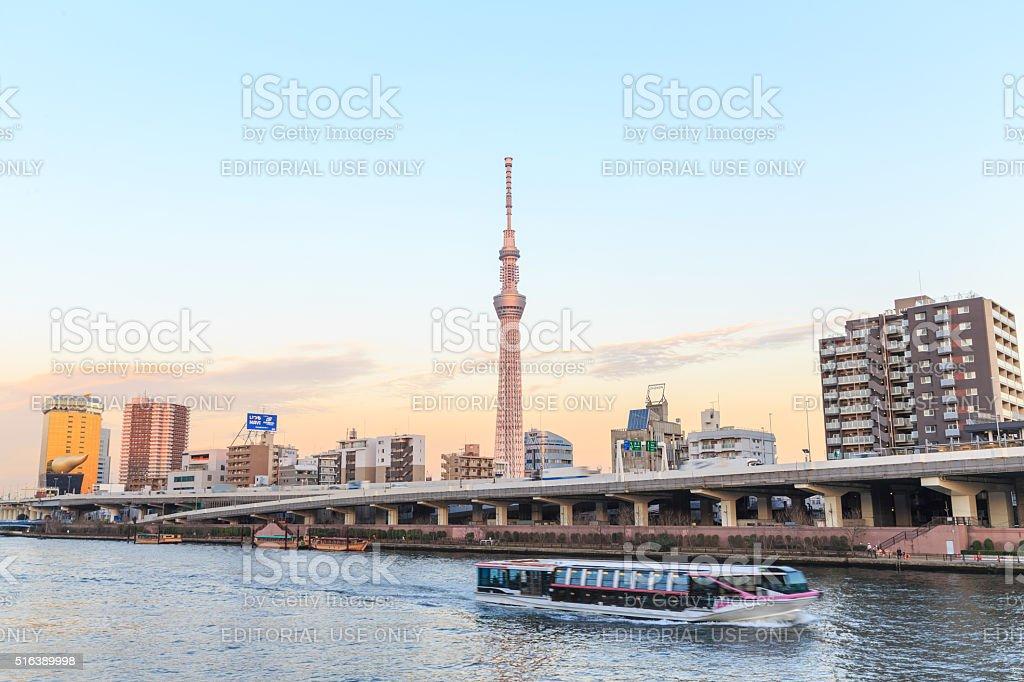 Tokyo Sky Tree in Tokyo, stock photo