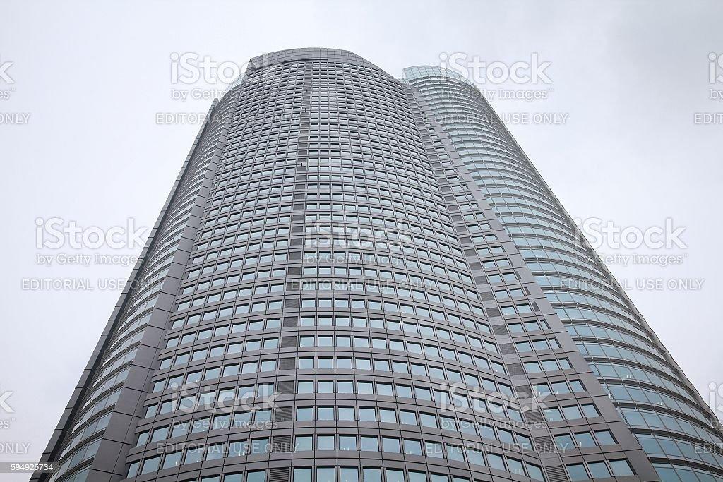 Tokyo skyscraper stock photo