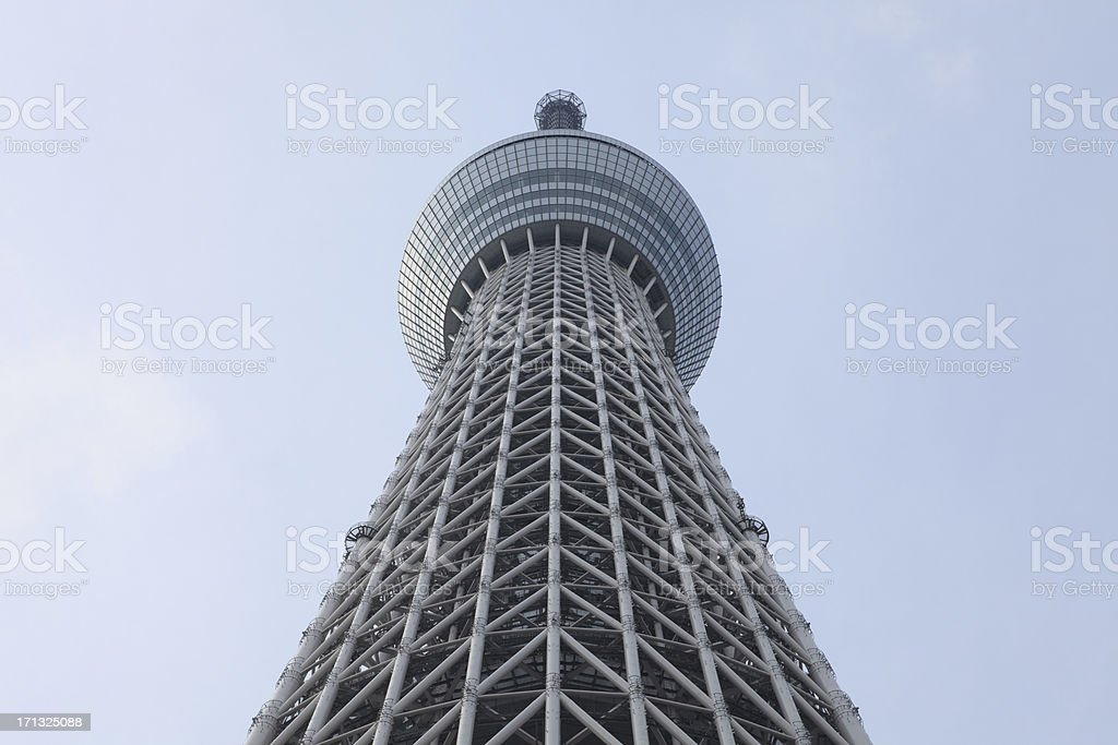 Tokyo Skytree in Japan royalty-free stock photo