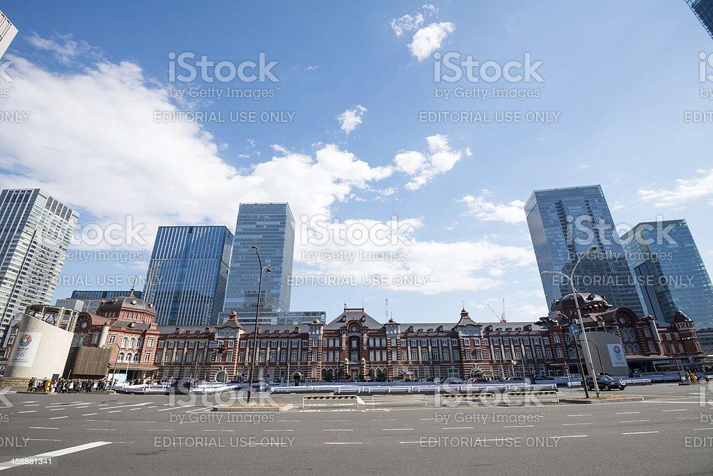 Tokyo Station royalty-free stock photo