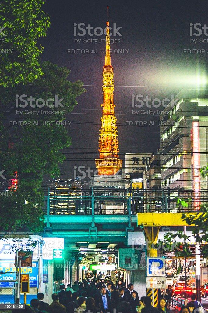 Tokyo streets. stock photo