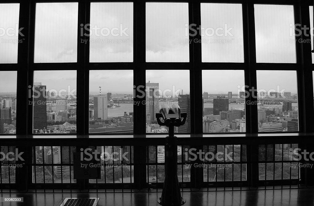 Tokyo Tower Observation Deck royalty-free stock photo