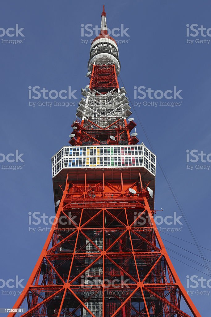Tokyo Tower royalty-free stock photo