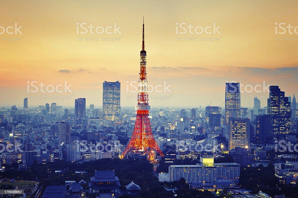 Tokyo Tower stock photo