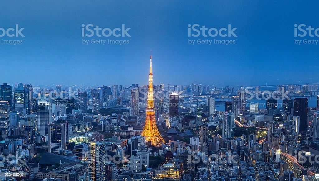 Tokyo Tower, stock photo