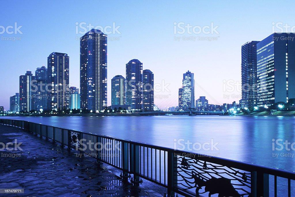 Tokyo Waterfront royalty-free stock photo
