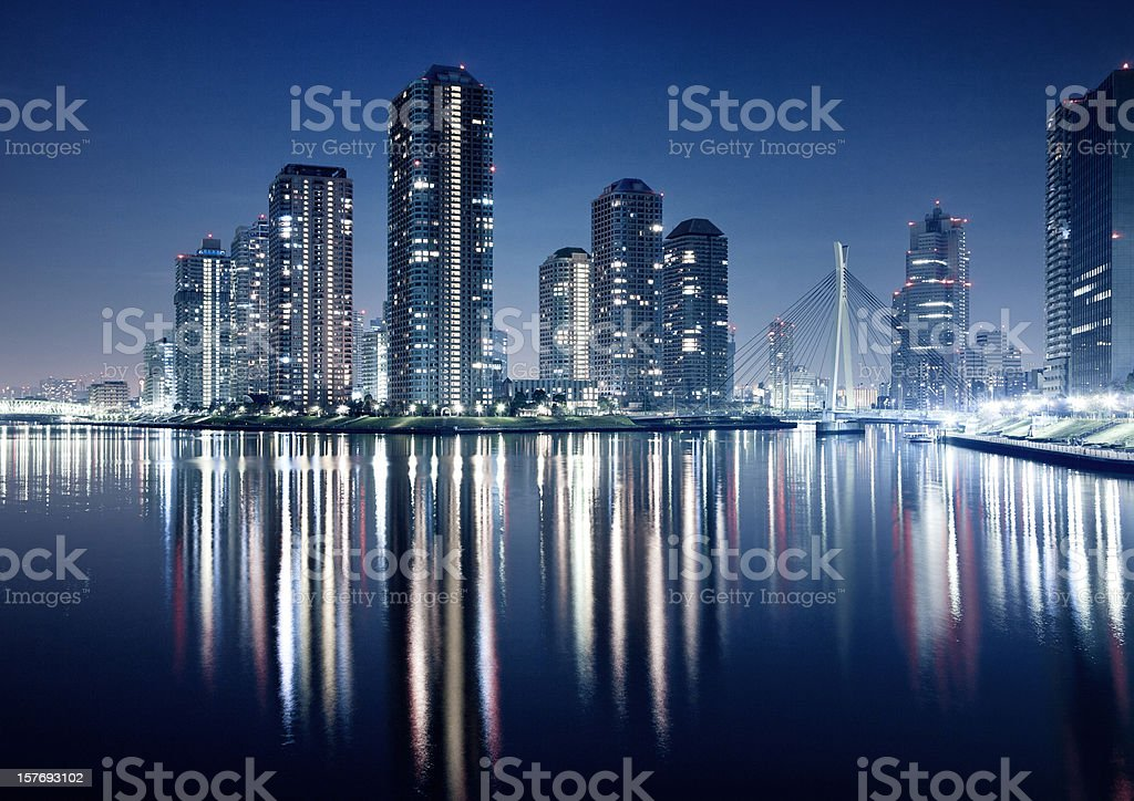 Tokyo Waterfront royalty-free stock photo