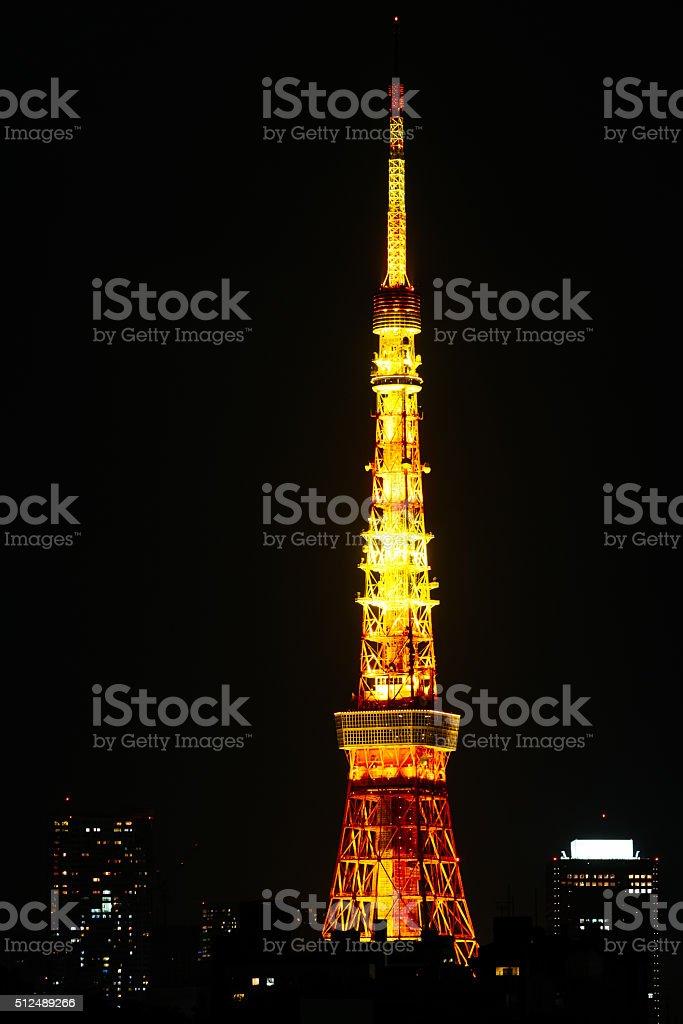 Tokyu tower stock photo