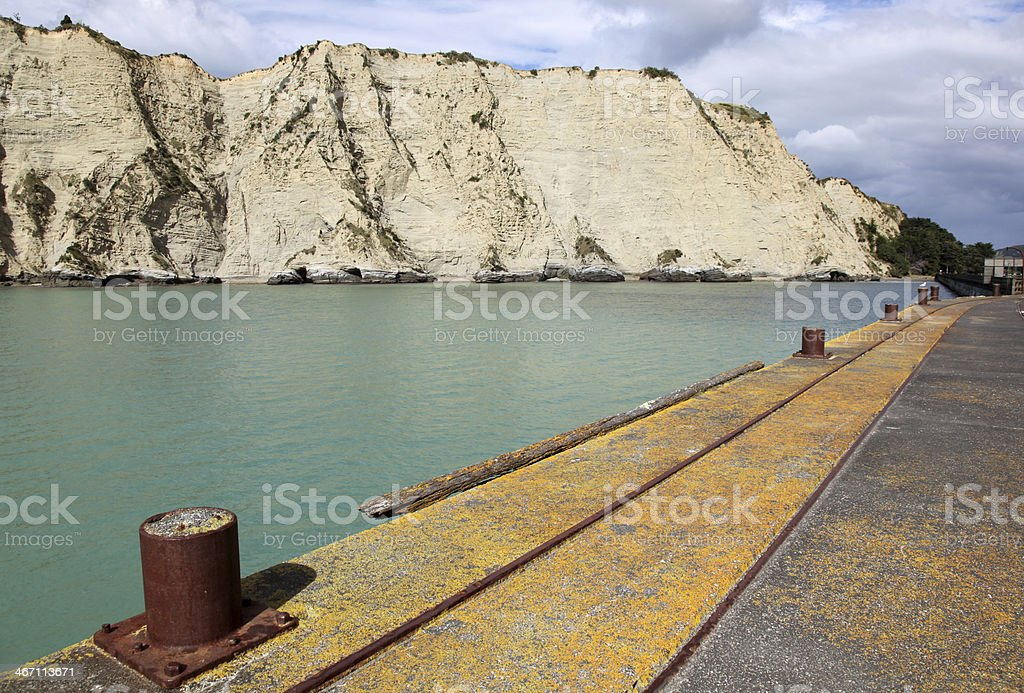 Tolaga Bay North Island New Zealand stock photo