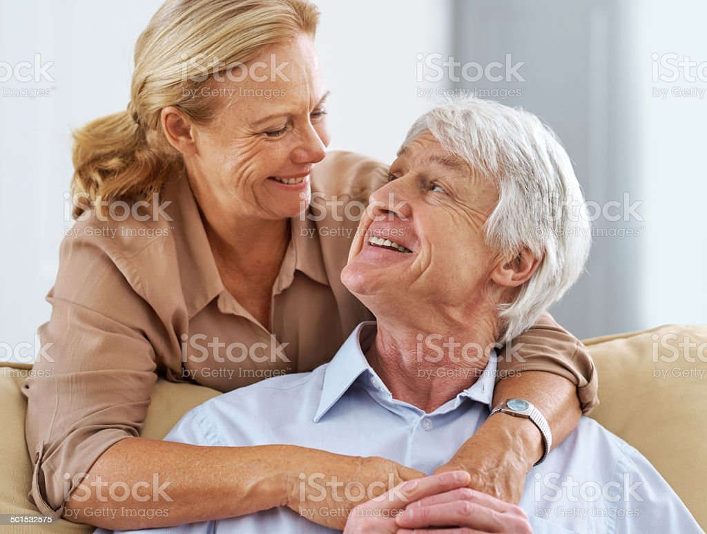 I told you, I'm growing old with you royalty-free stock photo