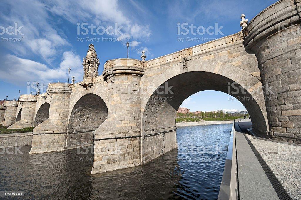 Toledo Bridge stock photo