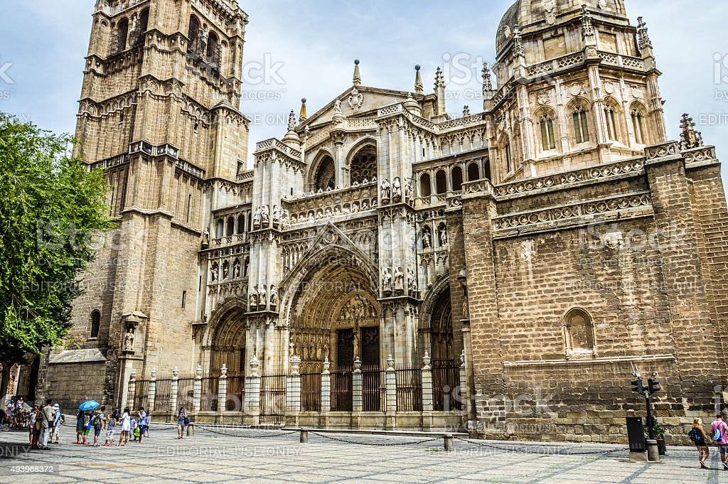 Toledo Cathedral - Spain stock photo