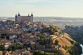 Toledo in Spain at sunrise