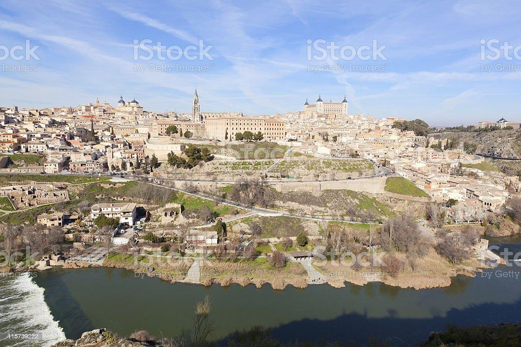Toledo in Spain stock photo