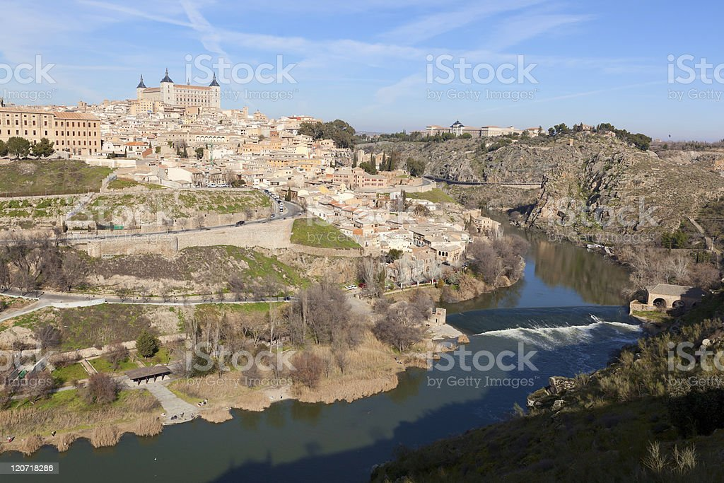 Toledo in Spain royalty-free stock photo