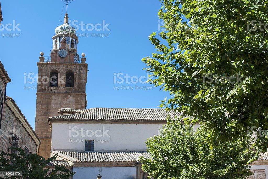 Toledo old church royalty-free stock photo