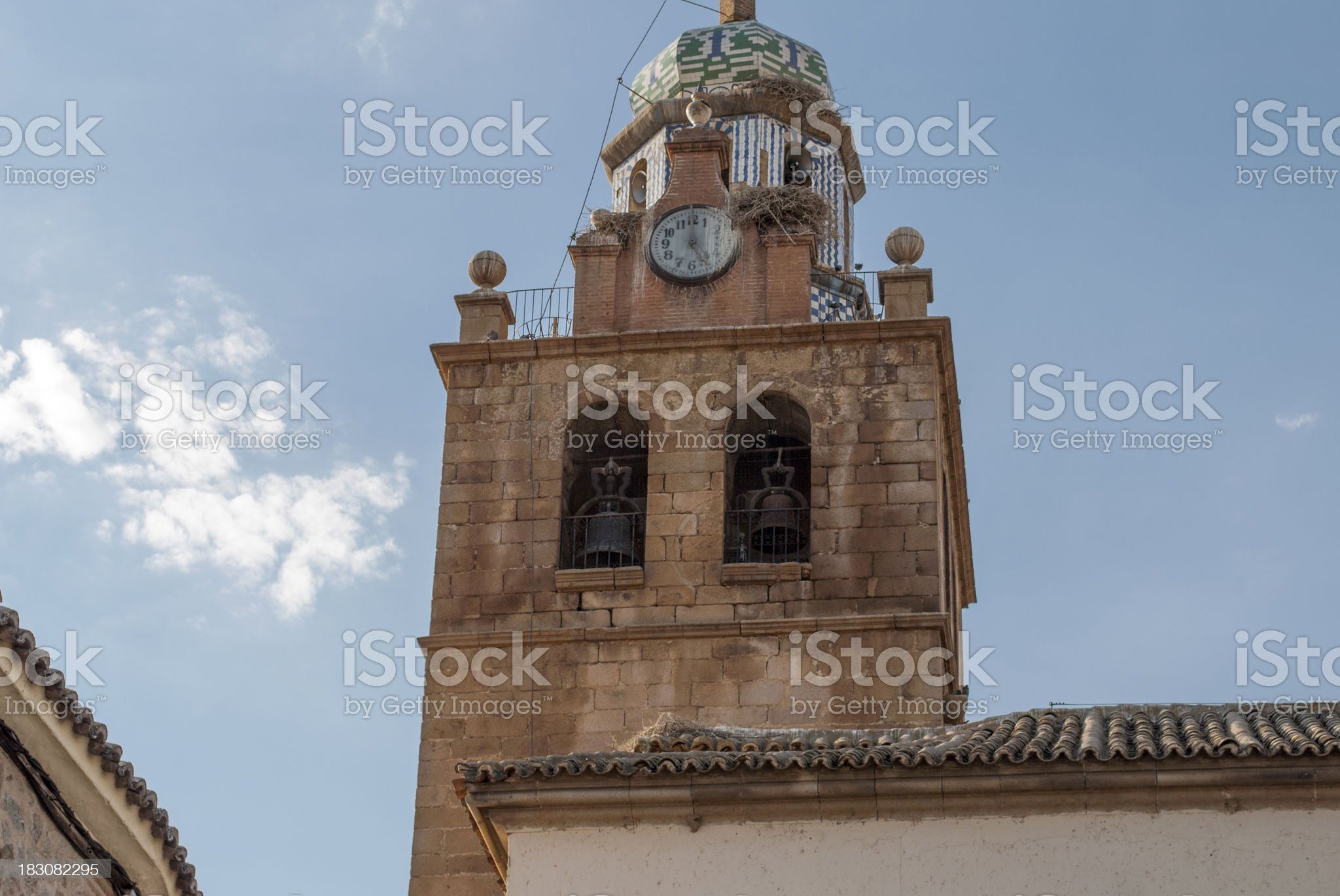 Toledo old church royalty-free stock photo