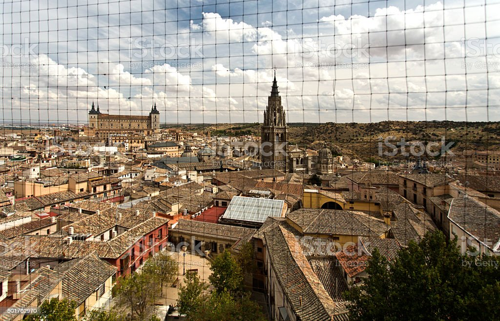 Toledo Old Town Cityscape stock photo