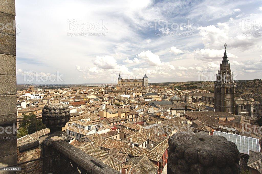 Toledo Old Town Cityscape stock photo