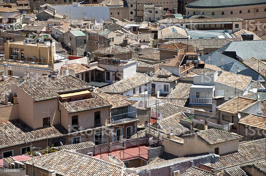 Toledo Skyline royalty-free stock photo