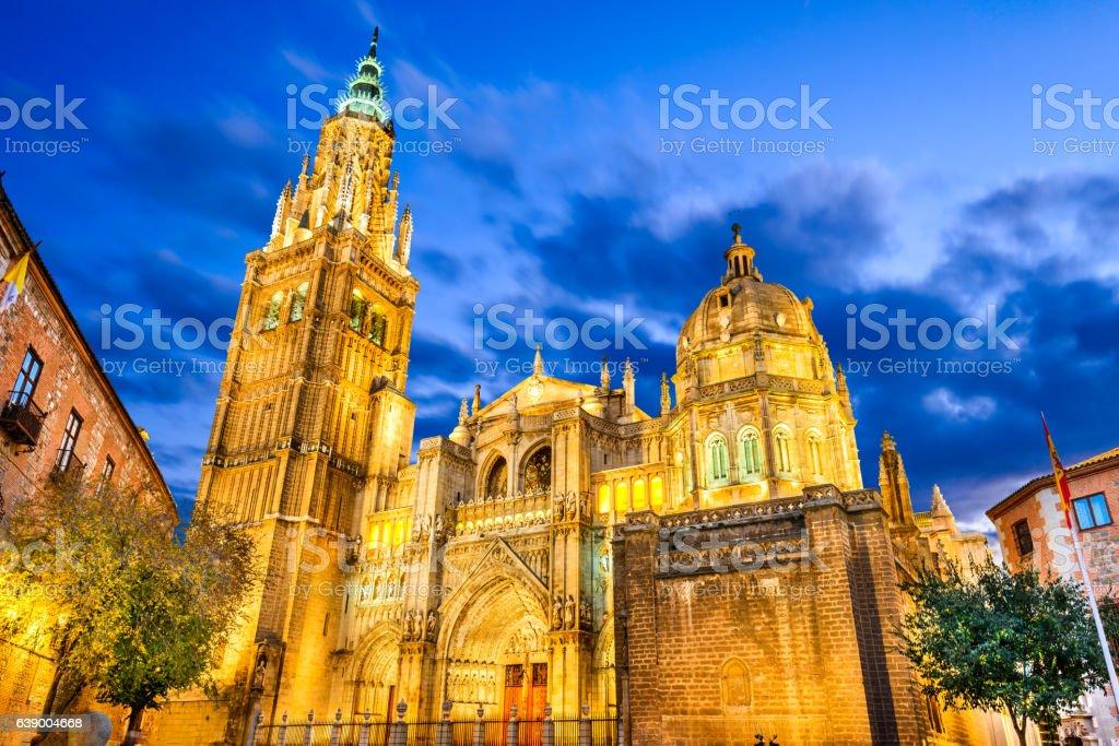 Toledo, Spain - Castilla la Mancha, Catedral Primada stock photo